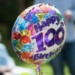 100th birthday party photos
