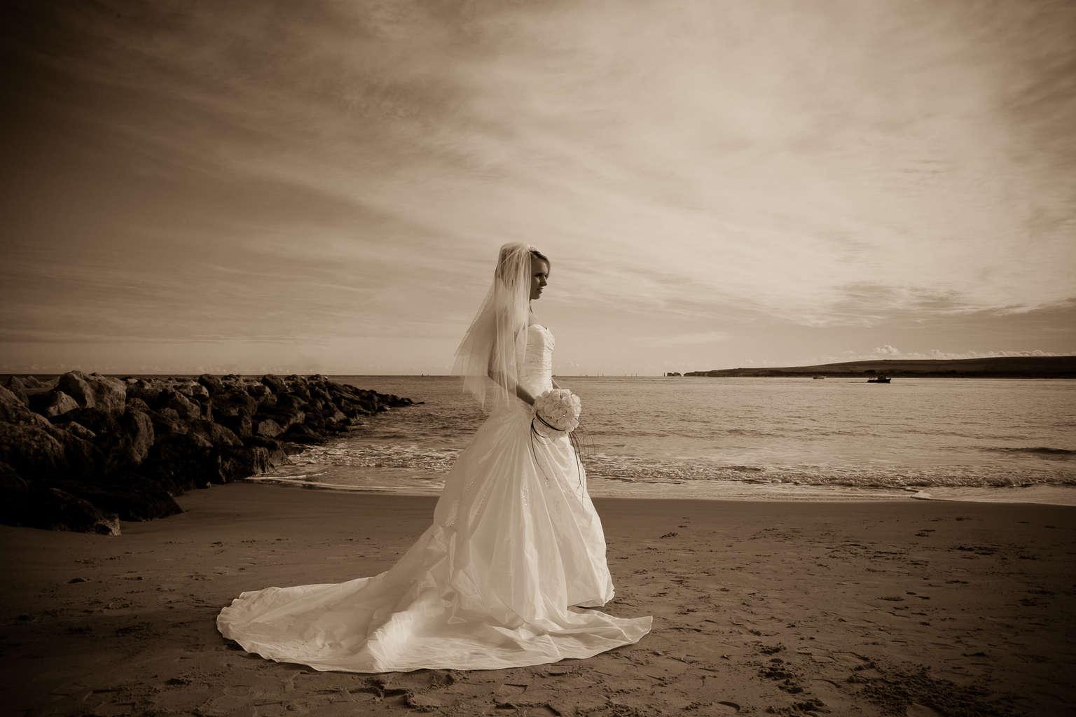 poole beach wedding photographer