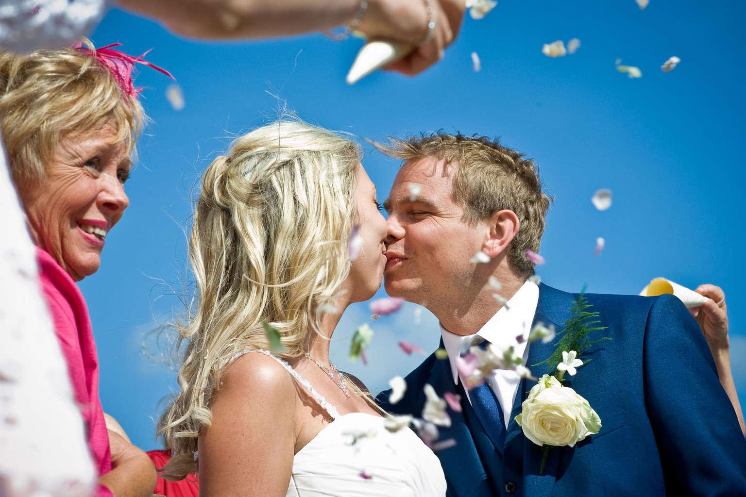 FJB Hotel wedding photographer poole