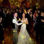 wedding first dance at lulworth castle