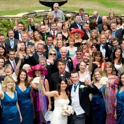 Group Photos and Wedding Guests at Athelhampton