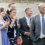 Wedding Guests at Athelhampton House