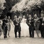 Wedding photographer at Athelhampton House