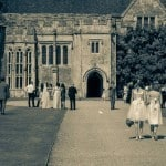 Sunny wedding day at Athelhampton House