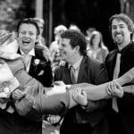 Wedding Guests at Athelhampton House
