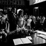 Wedding Ceremony, Athelhampton House
