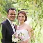 Bride and groom - Wedding photograph