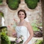 Beautiful Bride at Athelhampton House
