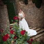 Photo of the Bride at Athelhampton House