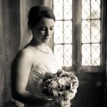 wedding photo at Athelhampton House