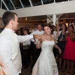 wedding dance at Athelhampton