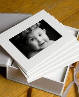 Linen Print Box