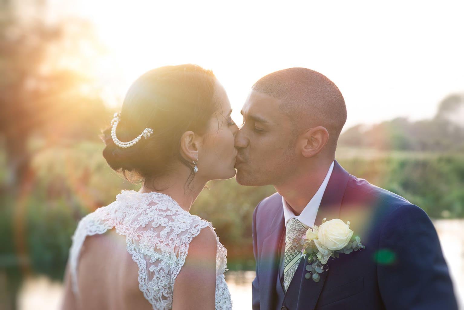 wedding photo at Sopley Mill, Christchurch