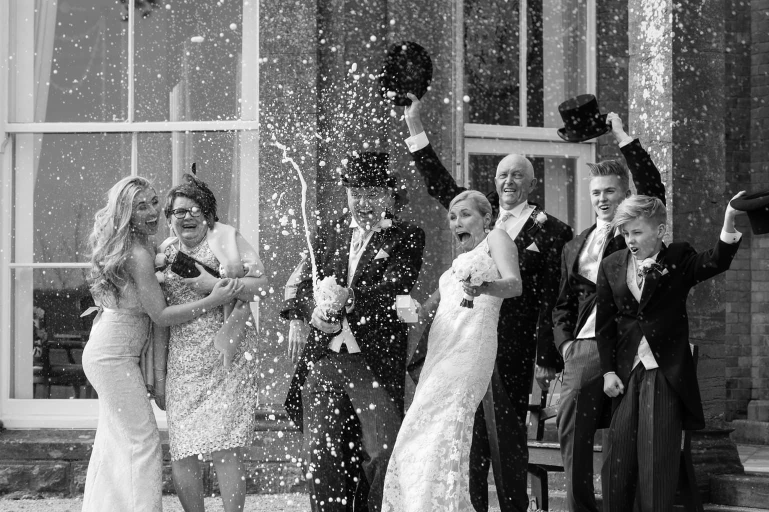 Wedding Photography Champagne photo