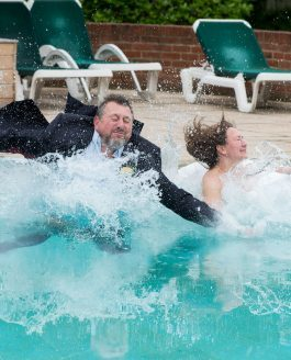 Making a Splash at Balmer Lawn Hotel