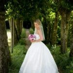 Athelhampton House wedding photo