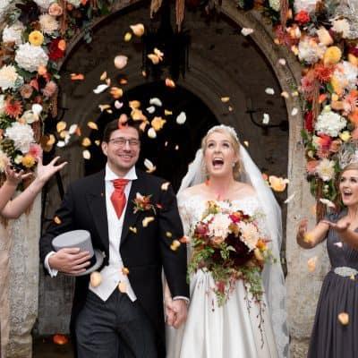 athelhampton house wedding photo