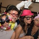 Athelhampton House wedding photobooth
