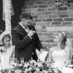 Athelhampton House wedding speech