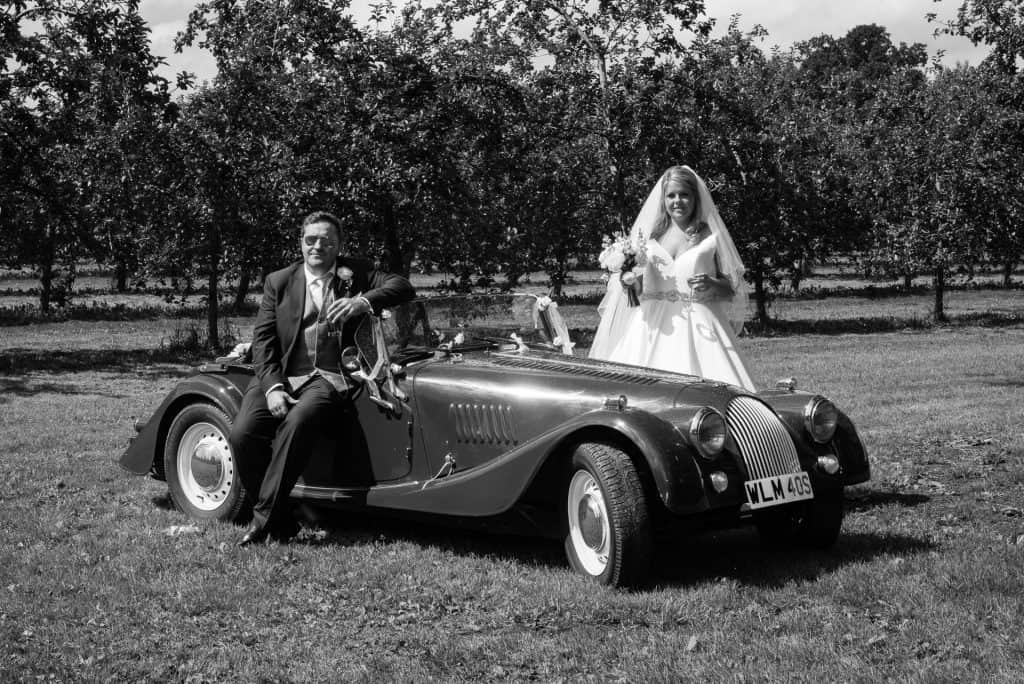 wedding car dorset