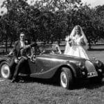 wedding car dorset