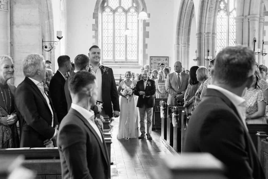 Wedding at St Mary the Virgin Church, Piddlehinton