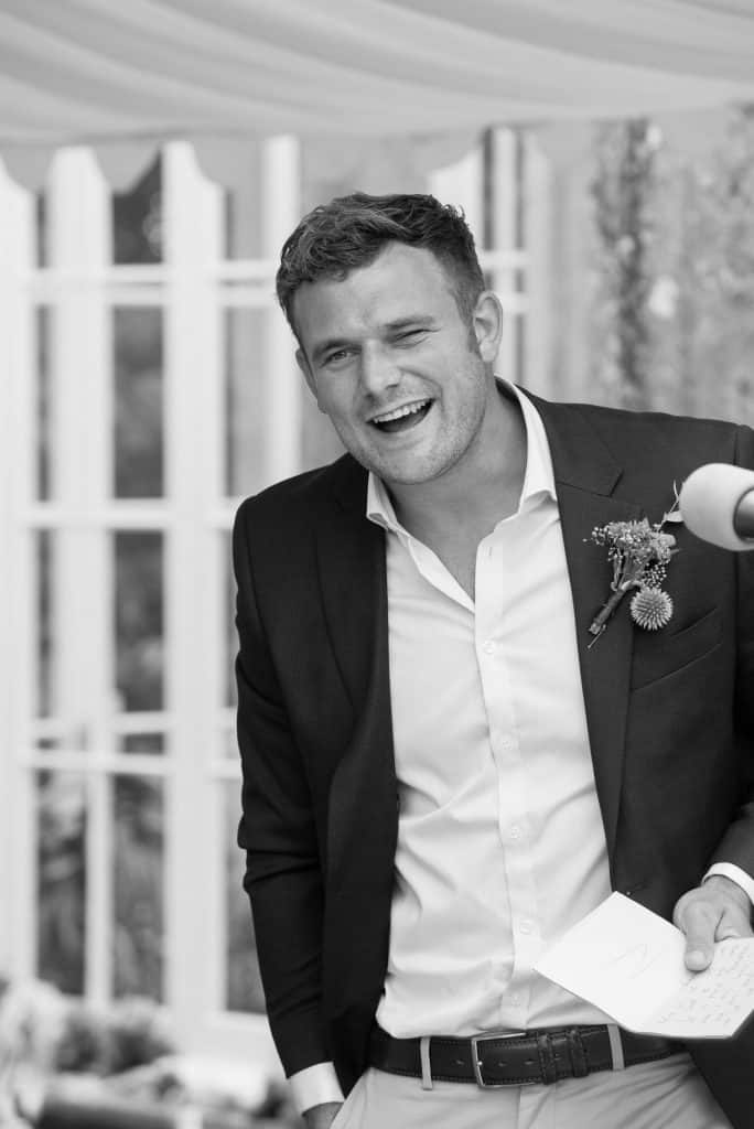 Wedding speech at Came House, Dorset