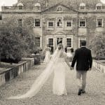 Wedding photographer at Came House, Dorset